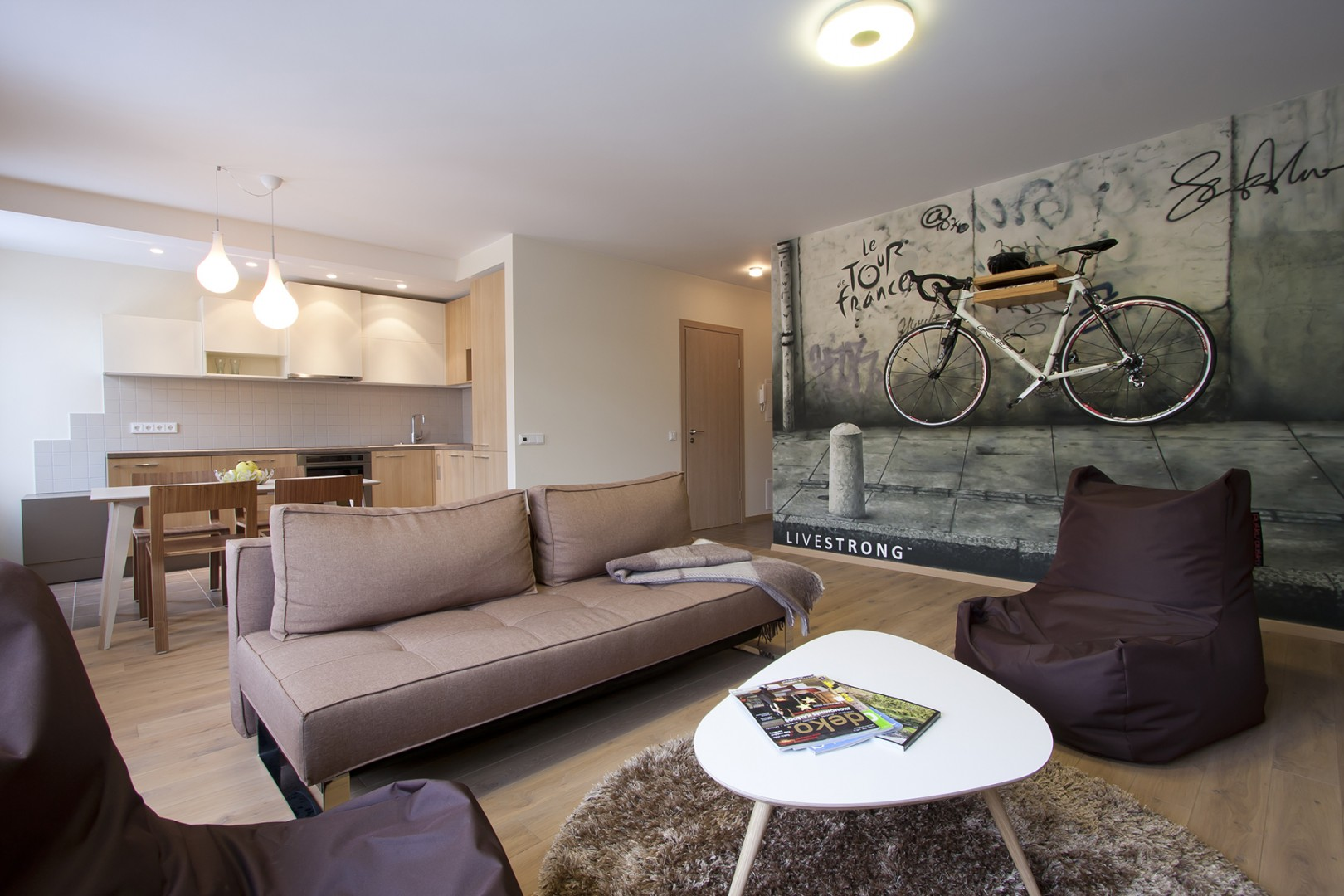 APARTMENT WITH BIKE INTERIOR
